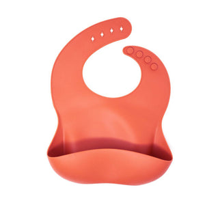 Baby Bar & Co by Three Hearts | Silicone Bib | Autumn Glaze