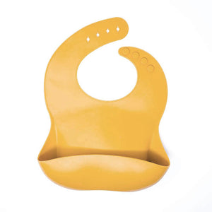 Baby Bar & Co by Three Hearts | Silicone Bib | Mustard