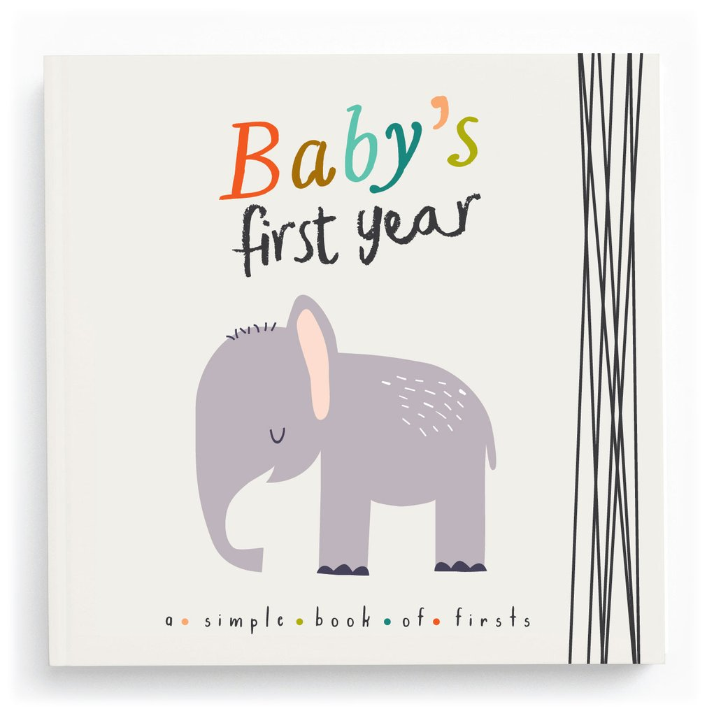 Lucy Darling | Baby's First Year Little Animal Lover Memory Book