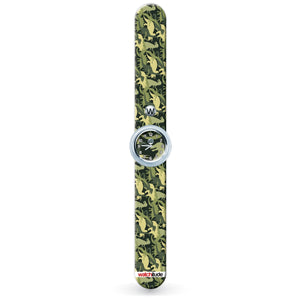 Watchitude | Slap Watch | Dino Camo