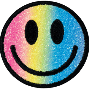 iScream | Smiley Face Embroidered Sticker Patch