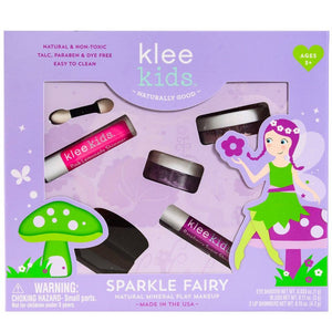 Klee Kids | Natural Mineral Play Makeup Kit | Sparkle Fairy