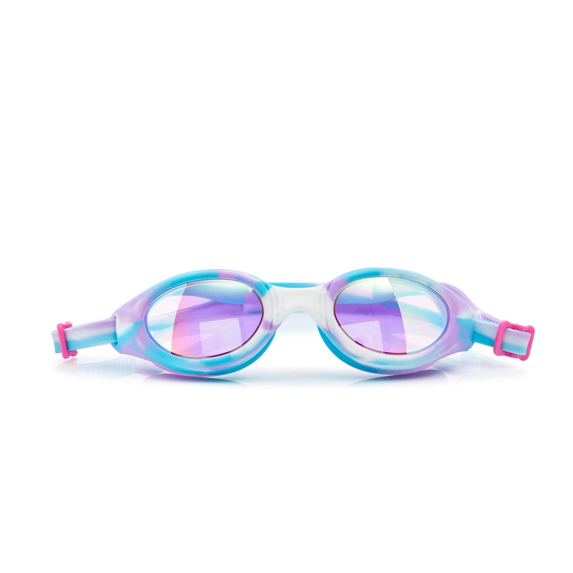 Bling2O | Girls Salt Water Taffy Swim Goggles | Blueberry Blast