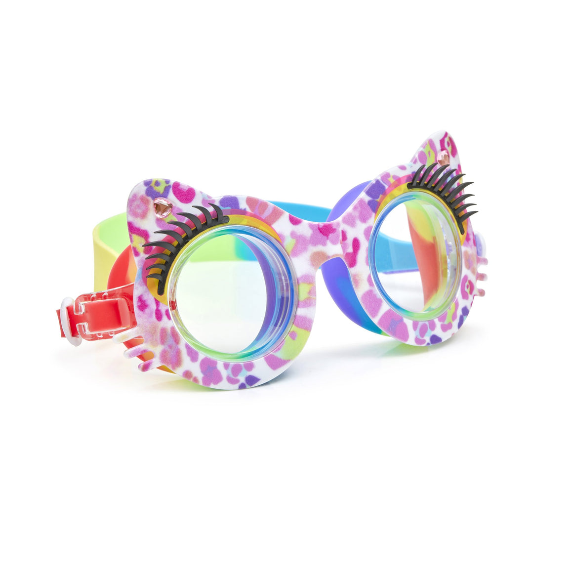 Bling2O | Girls Talk to the Paw Swim Goggles | Be Paw-sitive Pink