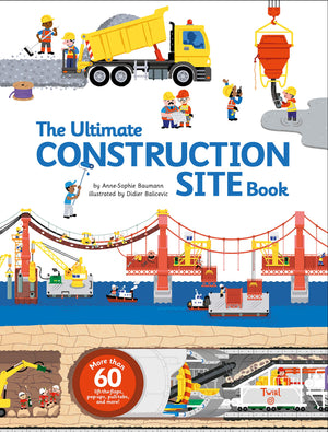 'The Ultimate Book - Construction Site' Hardcover | by Anne-Sophie Baumann