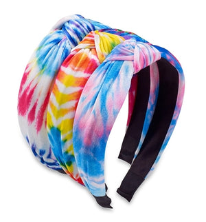 Top Trenz | Tie Dye Knot Headbands