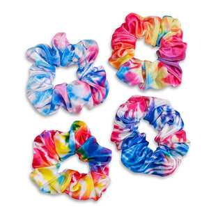 Top Trenz | Tie Dye Pony Tail Scrunchies