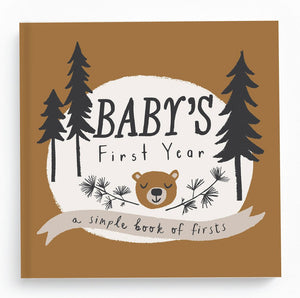 "Lucy Darling Baby's First Year ""Little Camper"" Memory Book"