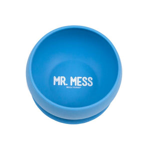 Minimize mealtime mess with the Bella Tunno Wonder Bowl, Mr Mess suction 100% Food grade silicone bowl