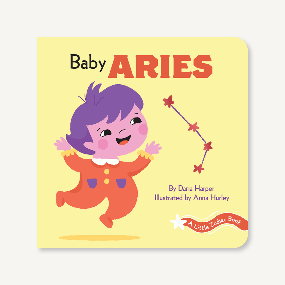 'A Little Zodiac Book : Baby Aries' | by Daria Harper