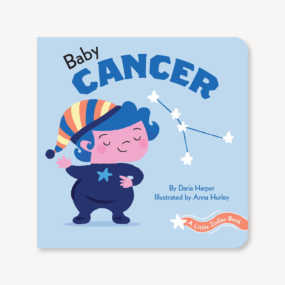 'A Little Zodiac Book : Baby Cancer' | by Daria Harper