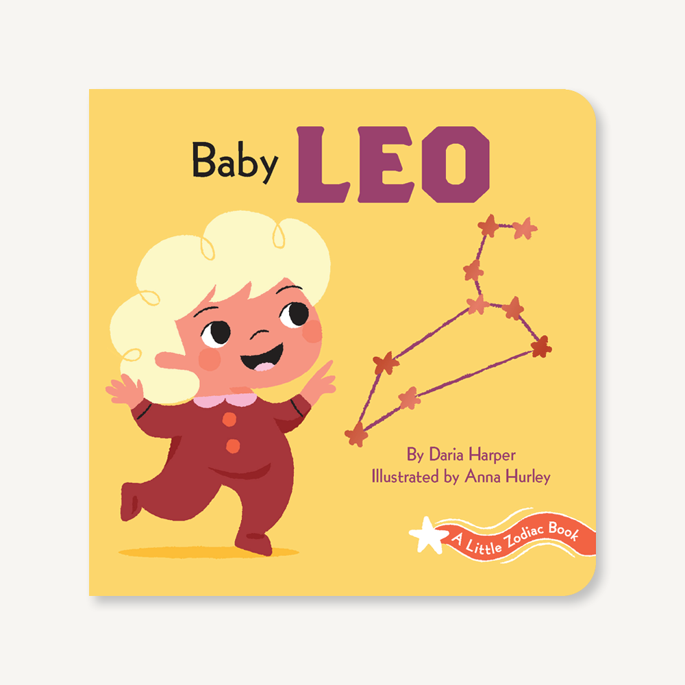 'A Little Zodiac Book : Baby Leo' | by Daria Harper
