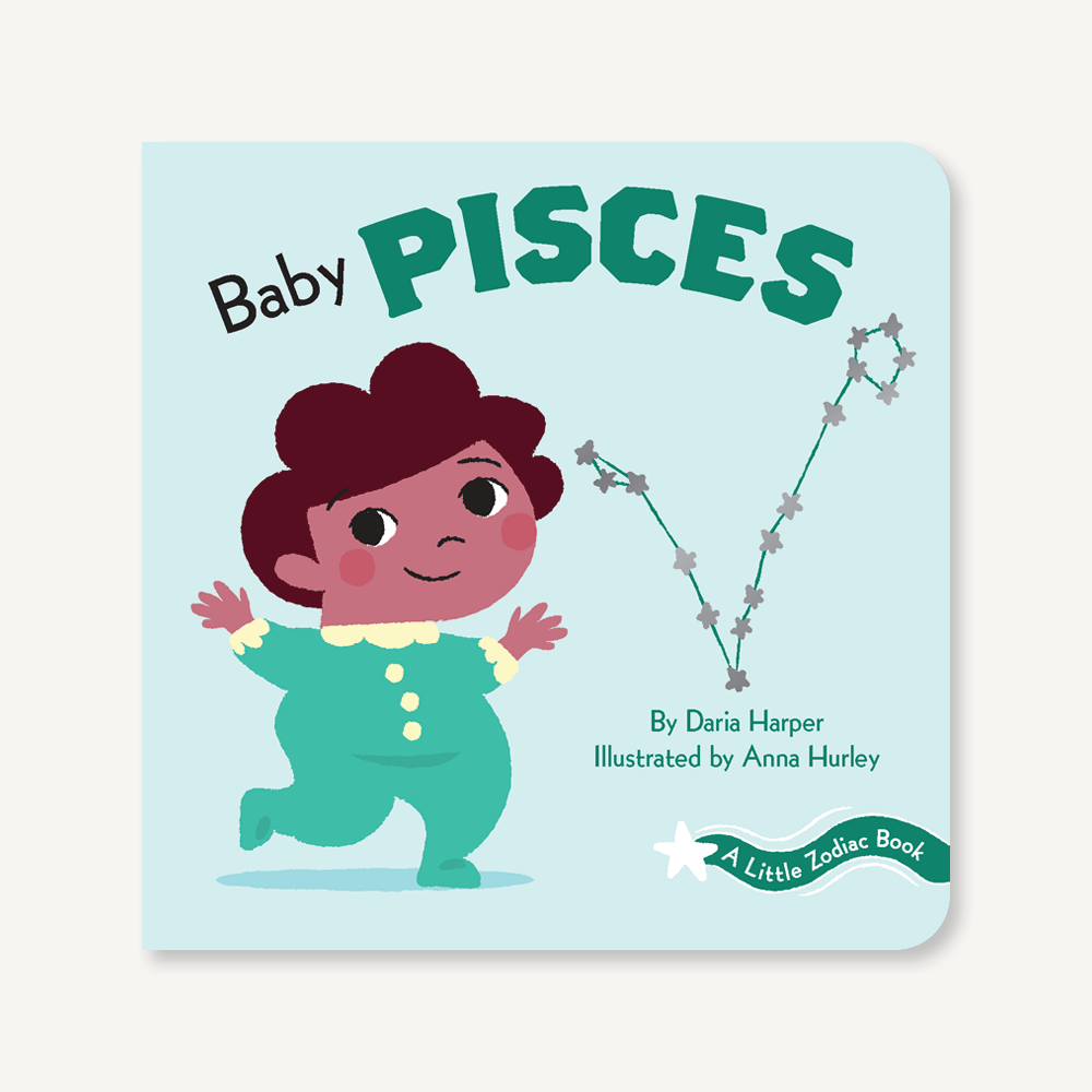 'A Little Zodiac Book : Baby Pisces' | by Daria Harper