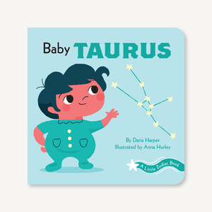 'A Little Zodiac Book : Baby Taurus' | by Daria Harper