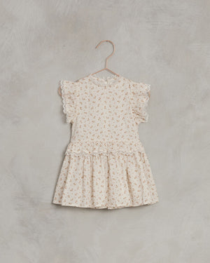 Noralee | Alice Dress | Gold Fleur