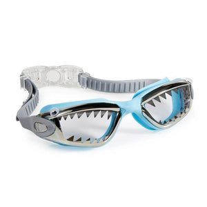 Bling2O | Boys Jawsome Shark Swim Goggles | Baby Blue