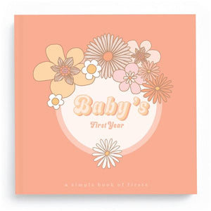 Lucy Darling | Baby's First Year Flower Child Memory Book