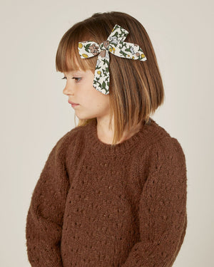 Rylee and Cru | Enchanted Forest Balloon Sweater | Wine