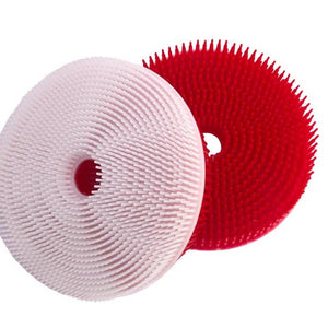 Squigee | Silicone Bath Circle | Red and White