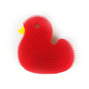 Squigee | Silicone Bath Duck | Red