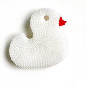 Squigee | Silicone Bath Duck | White