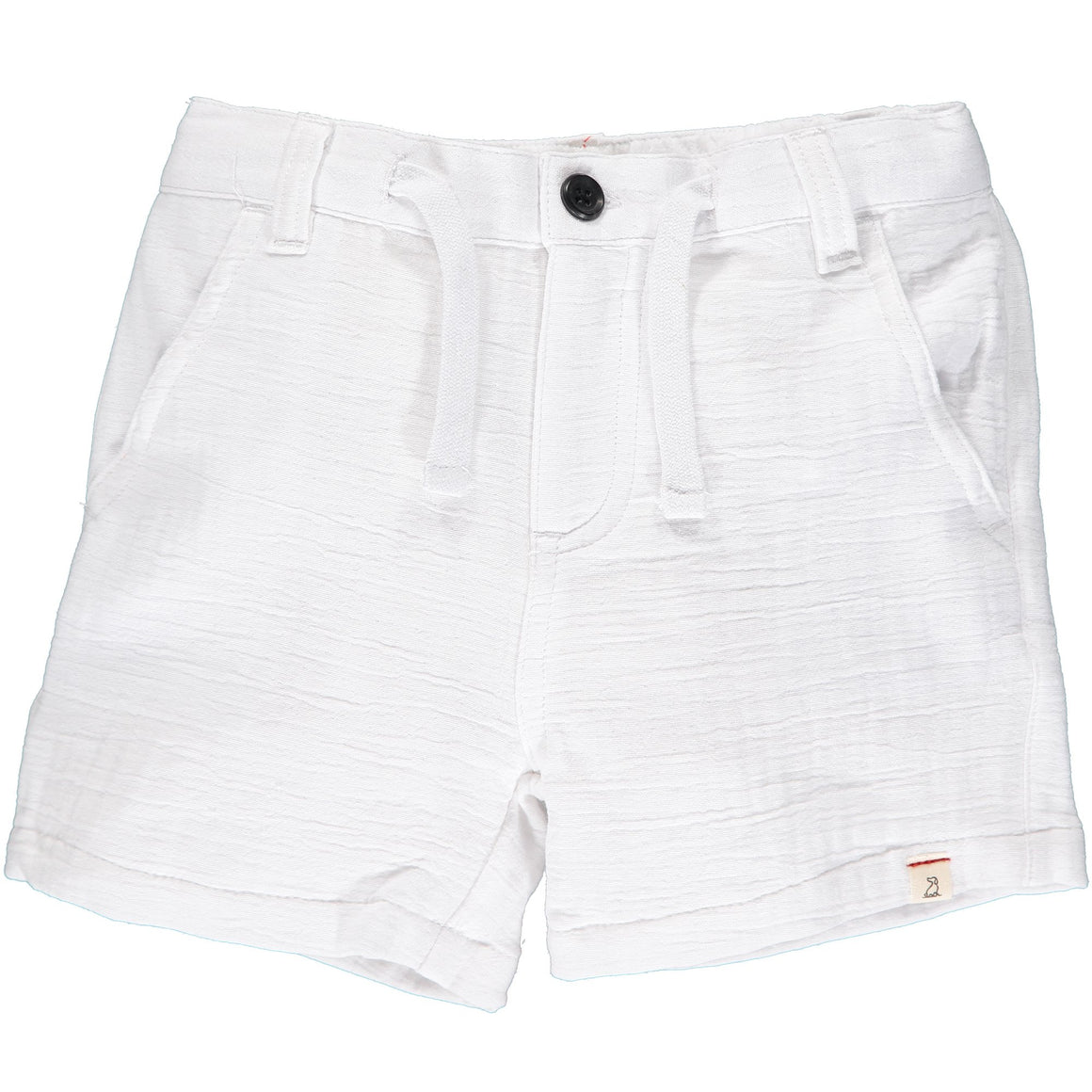 Me and Henry | Crew Gauze Shorts | White