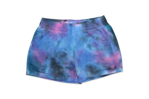 Candy Pink Girls | Tie Dye Shorts | Galaxy