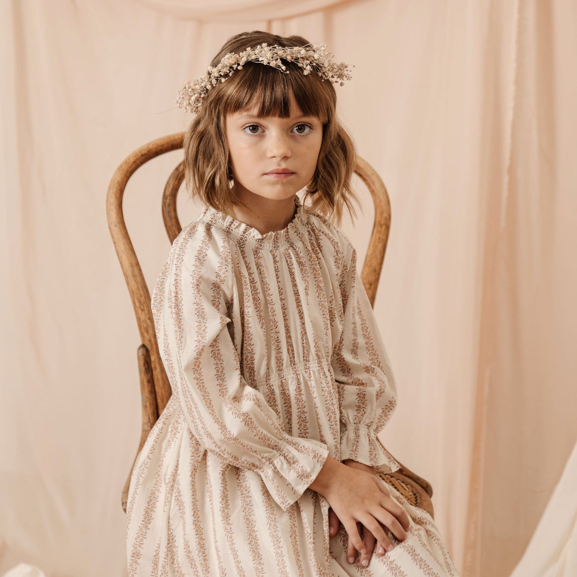 Noralee | Chloe Dress | Rose Stripe