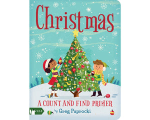 'Christmas' | A Count and Find Primer Book | by Greg Paprocki
