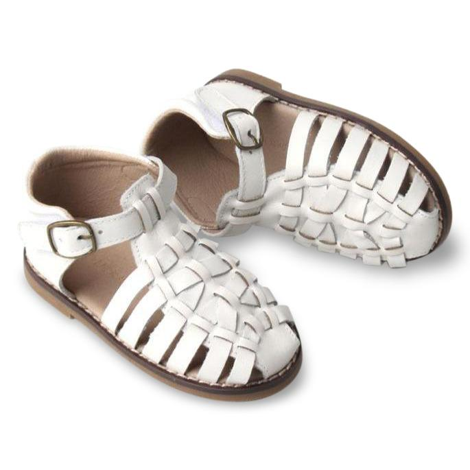 Consciously Baby | Leather Indie Sandal | Cotton Hard Sole