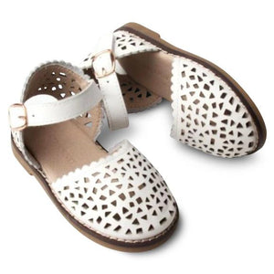 Consciously Baby | Leather Pocket Sandal | Cotton Hard Sole
