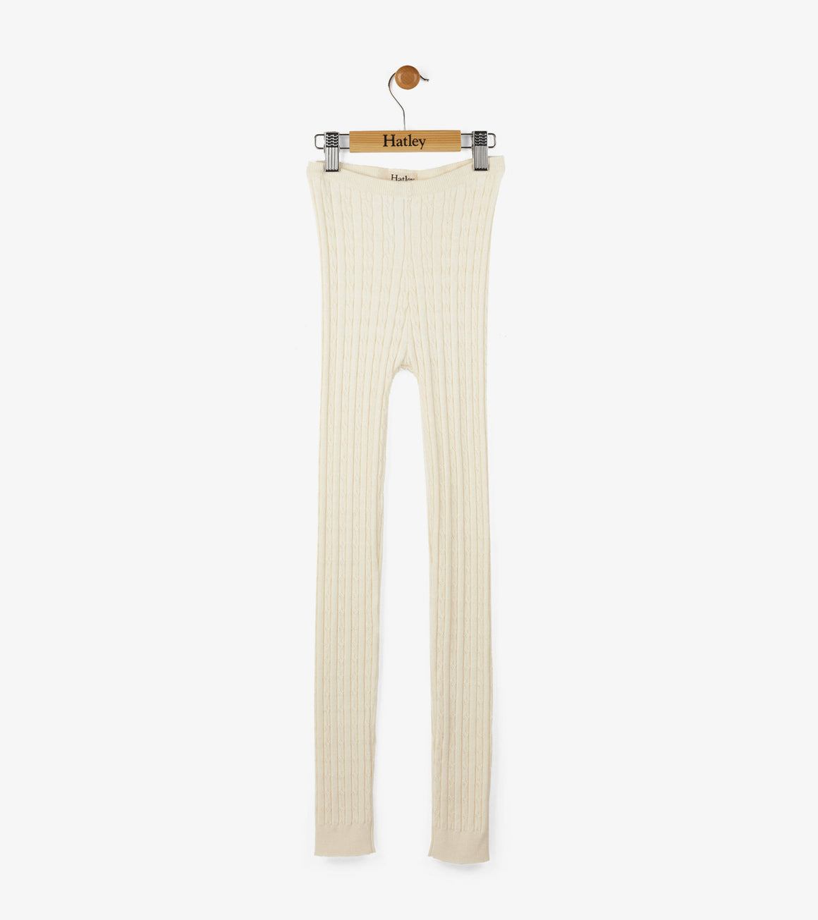 Hatley | Cream Cable Knit Footless Tights