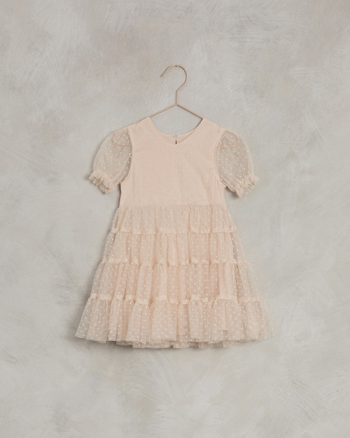 Noralee | Dottie Dress | Light Peach