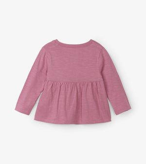 Hatley Kids Baby Toddler Girls Cozy Bunny Long Sleeve Tee back