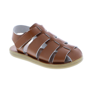Footmates | 'Captain' Leather Sandal | Tan