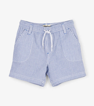 Hatley | Blue Stripes Woven Shorts
