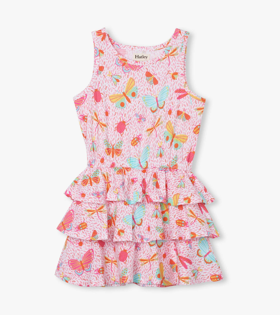Hatley | Garden Friends Ruffle Dress