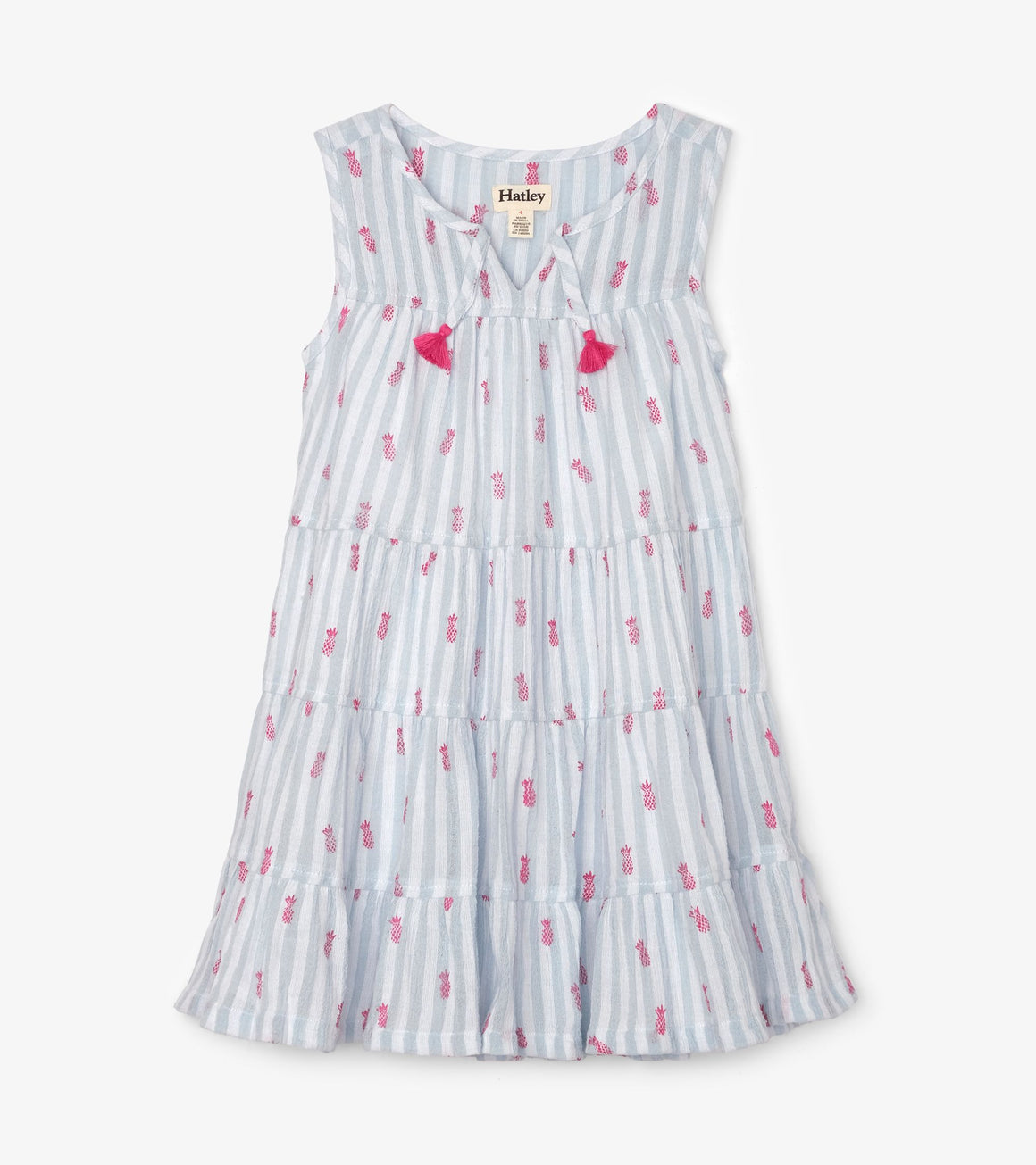 Hatley | Party Pineapples Tiered Dress