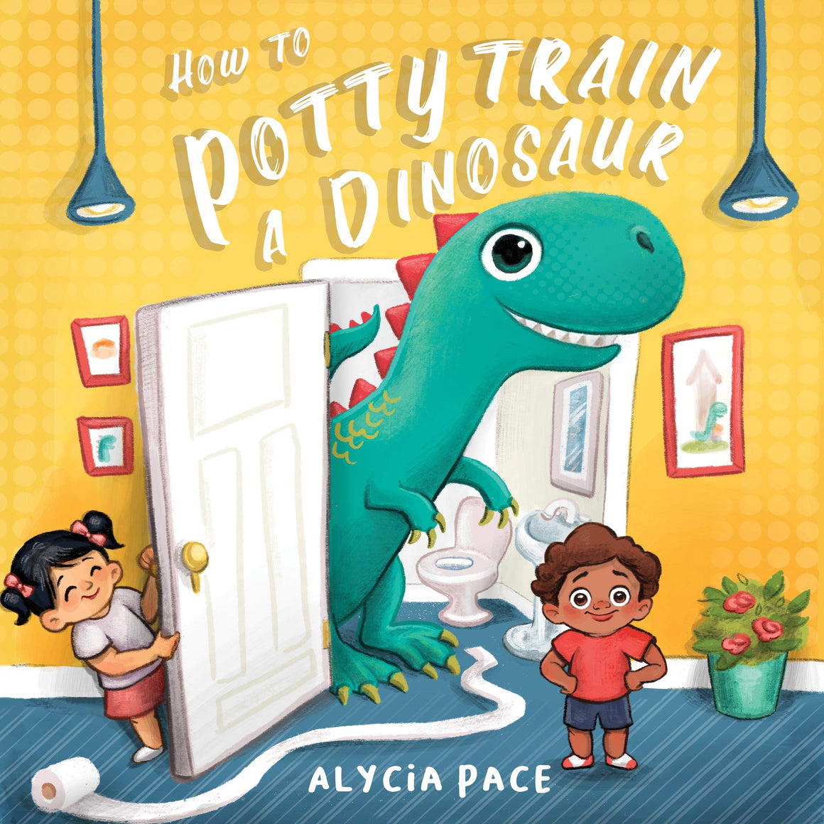 How To Potty Train a Dinosaur Book | by Alycia Pacl