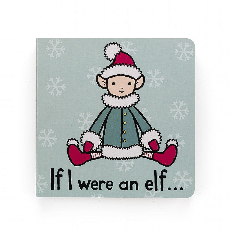 Jellycat | If I Were an Elf Board Book