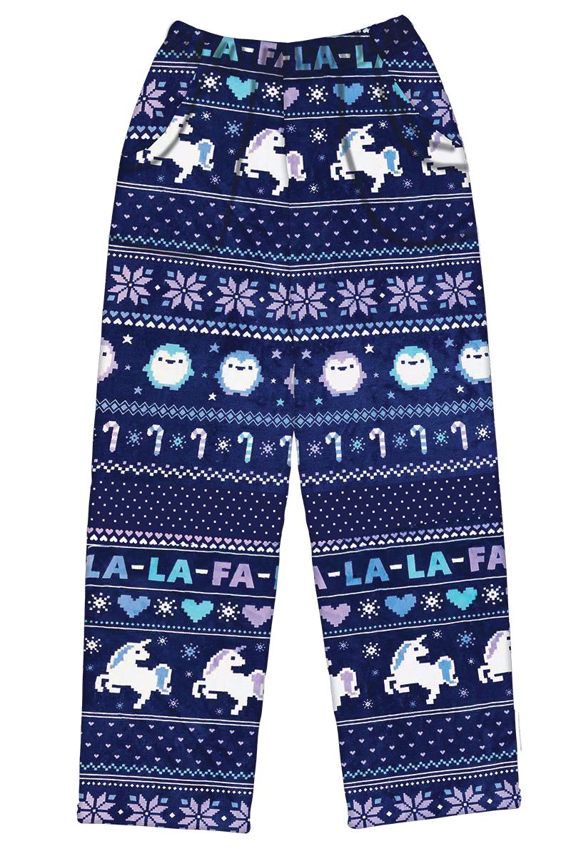Iscream Holiday Girls Fa La La Plush Pajama Pant