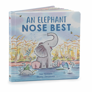 A sweet hardback children's book, An Elephant Nose Best.