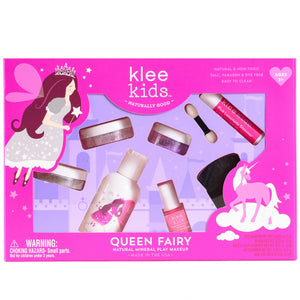 Klee Kids | Natural Mineral Play Makeup Kit | Queen Fairy
