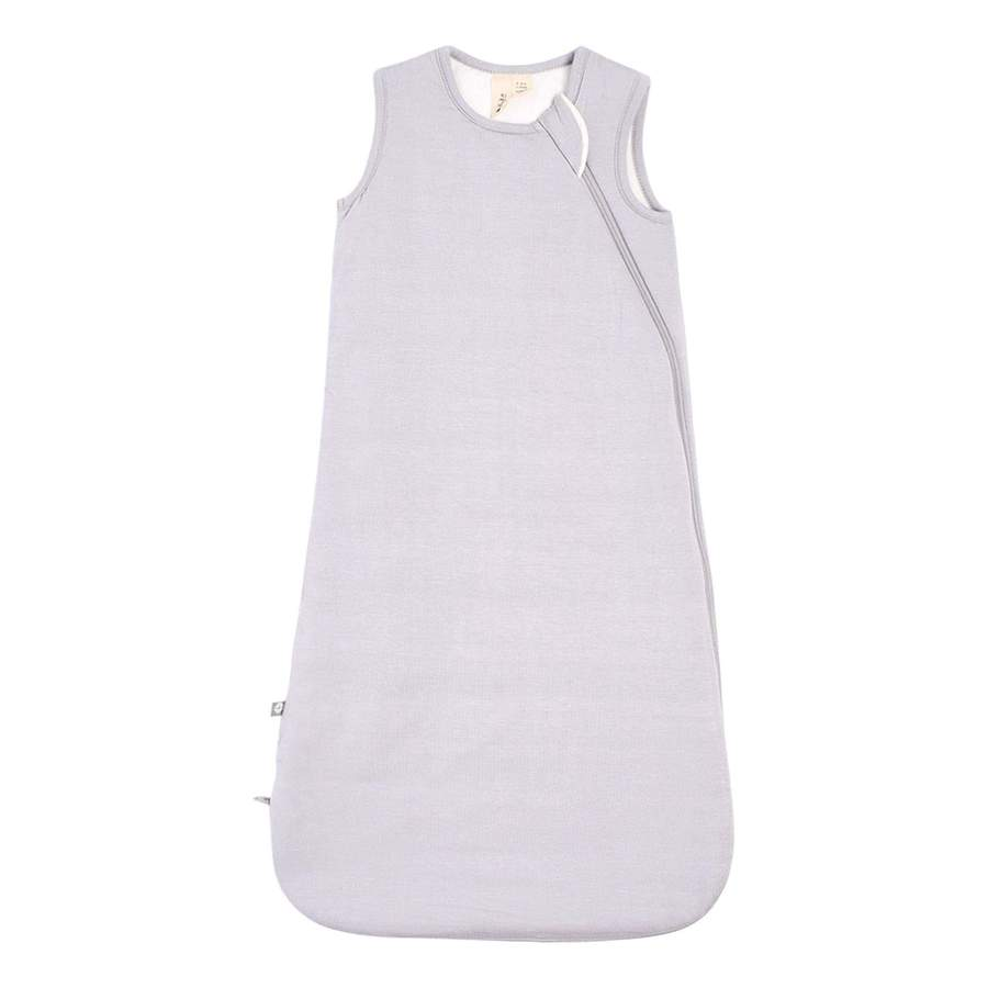 1.0 TOG bamboo super soft infant sleep sack in storm grey. From Kyte Baby.