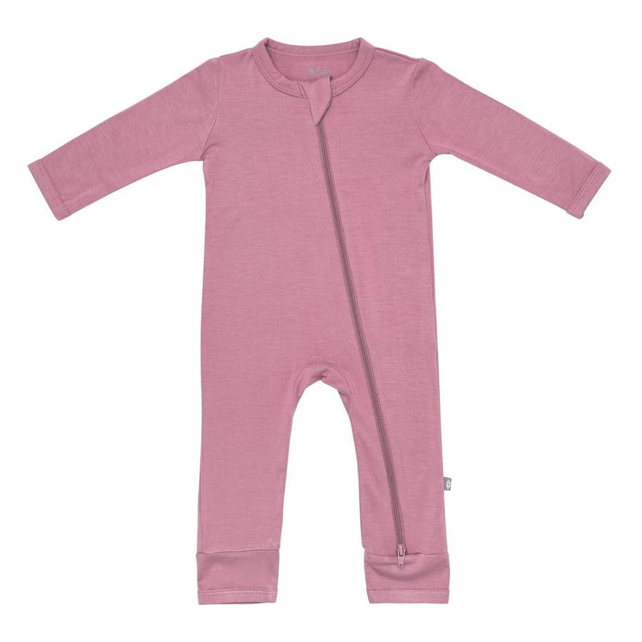Kyte Baby | Zippered Romper | Mulberry (NEW)