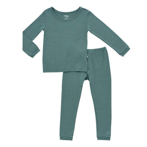 Kyte Baby | Toddler Pajama Set | Pine (NEW)