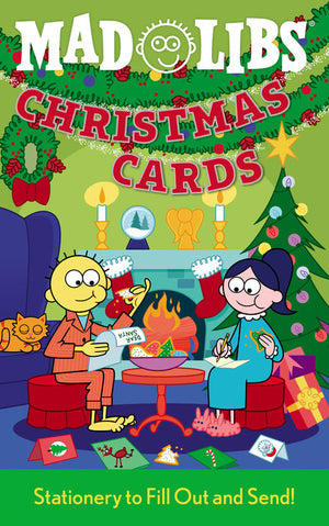 Mad Libs Christmas Cards, fun mad libs Christmas cards that you can fill out and mail to family and friends