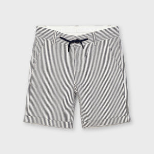 Mayoral | Navy Stripe Bermuda Shorts