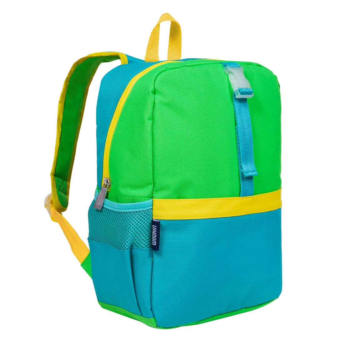 Wildkin Olive Kids | Monster Green Pack-It-All Backpack