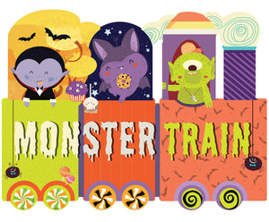 Monster Train Halloween Book | by Susanna Covelli